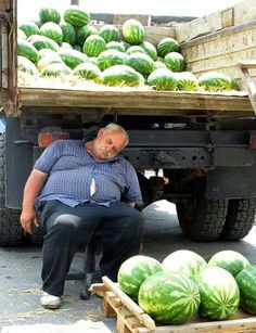 Watermelon man ......Greece