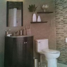 Nice small bathroom look
