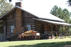 Historic Log Cabin Tours at Mitchell Farms in Collins, Mississippi
