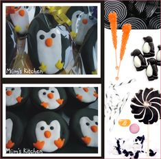 Plush Penguin Party Theme // Hostess with the Mostess® First Birthday Parties, Birthday Party Themes, First Birthdays, Birthday Ideas, Kid Parties, Birthday Cupcakes, Penguin Birthday, Penguin Party, Penguin Cupcakes