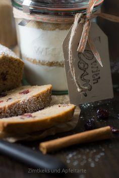 Köstlicher Apfel-Cranberry-Kuchen (vegan) - Zimtkeks und Apfeltarte