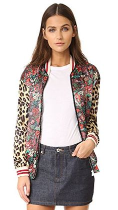 New Trending Outerwear: Scotch  Soda/Maison Scotch Womens Bomber Jacket, Multi, 2. Scotch  Soda/Maison Scotch Women's Bomber Jacket, Multi, 2   Special Offer: $104.30      455 Reviews A sleek Scotch  Soda/Maison Scotch bomber jacket with a statement-making mix of prints. Zip placket and welt front pockets. Ribbed edges. Lined.Technical weave96%...
