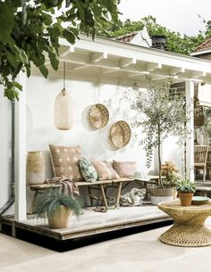 zomerse tuin | summer backyard | vtwonen 07-2016 | Photography Sjoerd Eickmans | Styling Moniek Visser