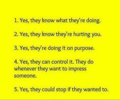Make no mistake...they know
