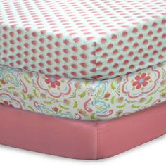 product image for The Peanut Shell® Gia Mix & Match Fitted Crib Sheets