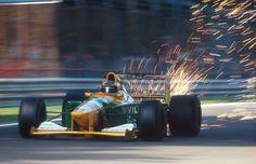 1992 Italian Grand Prix. Michael Schumacher.