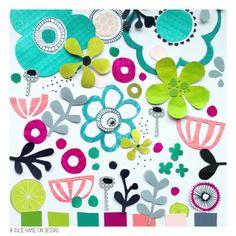 Colour me creative moodboard - Julie Hamilton Designs {artistically afflicted blog}