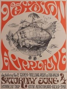 The concert poster is a great visual history of rock n' roll that centers on the posters which were created to advertise the musicians and concert...