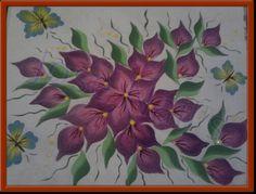 pintura en papel de uña
