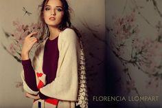 Moda y Tendencias en Buenos Aires : FLORENCIA LLOMPART TEJIDOS OTOÑO INVIERNO 2016: MODA EN VESTIDOS, PONCHOS Y SWEATERS TEJIDOS