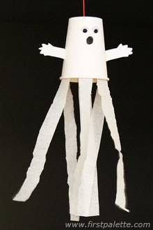 Paper cup ghost craft