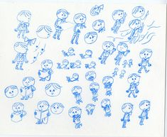 Preliminary sketches for Leo.