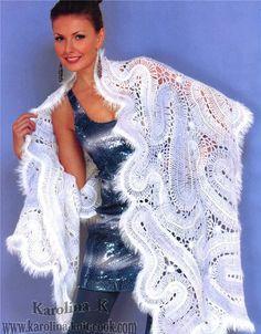 Hairpin Crochet Shawl - kinda really like this!