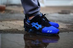 Asics Gel Lyte III Custom (by liamparsons4) #sneakers