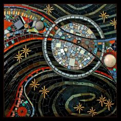 Mosaic Artists Gallery of Public Art Mosaics - Showcase Mosaics - Providence Hospital, Everett WA