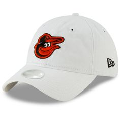 brand new 8d0e9 c18ef Women s Baltimore Orioles New Era White Core Classic 9TWENTY Adjustable Hat,   21.99