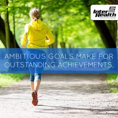 Don't be afraid to set ambitious goals. You are capable of amazing things. #Health #Fitness #Inspiration