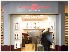 Vino Volo. Discover great wines. located in Dulles on concourse C. A great place for food and wine before your flight leaves.