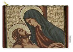 Carry-all Pouch featuring the photograph Religion 1 by Francesca Mackenney
