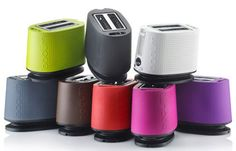 hello colourful toasters