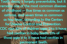 Something to think about! Dr. Marc E. Goldenberg, Dr. Kate M. Pierce, and Dr. Matthew S. Applebaum Pediatric Dental Office Greensboro, NC