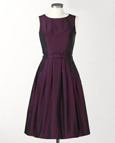 Taffeta occasion dress