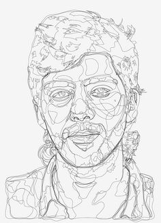 line drawing | Still working on this one... | Franz Vanek | Flickr