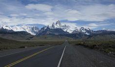 El Chaltén, pueblo montañes dominado por el imponente Monte Fitz Roy, provincia de Santa Cruz.