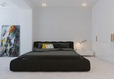 modern minimalist bedroom