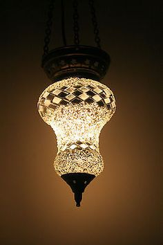 PEAR SHAPED TURKISH MOROCCAN STYLE MOSAIC HANGING LAMP PENDANT LIGHT LANTERN in Home, Furniture & DIY, Lighting, Ceiling Lights & Chandeliers | eBay