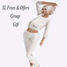 Destiny Ivory Summer Outfit. This beautiful white summer outfit can be yours for free. Use my landmark at the end of this post to travel