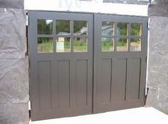 Lovely Hand Made Custom Swing Carriage House Garage Doors And REAL Carriage House Garage  Doors By