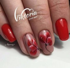 Nail Art Simple Fresh How to Nail Art Elegant Simple Nails Fancy Nails, Pink Nails, Cute Nails, Pretty Nails, Uñas One Stroke, Uñas Diy, Gel Nagel Design, Nail Art Images, Floral Nail Art