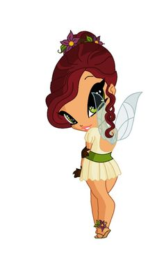 Blossom - The Pixie of Spring by artemys94 on DeviantArt
