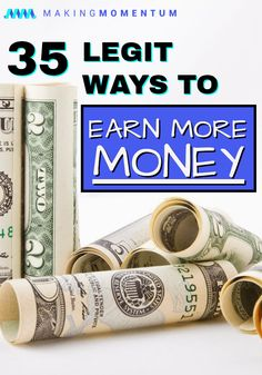 There are plenty of great ways to earn extra cash, no matter your skills or experience! Whether it's online making money from home, starting a new side hustle in the gig economy, freelancing your skills or one of the many other ways to make more money in your free time, you can do it too! Check out these 35+ great side hustle ideas to make more money fast. #makemoney #makemoneyonline #makemoneyfromhome #nightjobs #DIYjobs #personalfinance