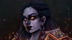 Kaldorei by Art of Frenone World Of Warcraft Characters, Dnd Characters, Fantasy Characters, Character Concept, Character Art, Character Design, Character Ideas, Concept Art, Fantasy Dwarf