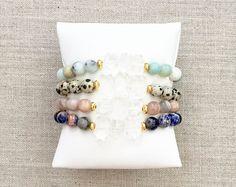 Las pulseras del encanto de Chloe por LovesAffect en Etsy