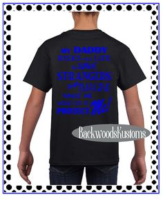 YOUTH / CHILDS Deputy's Daughter Shirt / Tee  My Daddy is