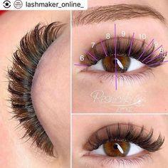 Read more about eye makeup hacks Longer Eyelashes, Fake Eyelashes, False Lashes, Perfect Eyelashes, Best Lashes, Eyelash Extensions Salons, Applying Eye Makeup, Eyebrow Makeup, Eyelash Sets