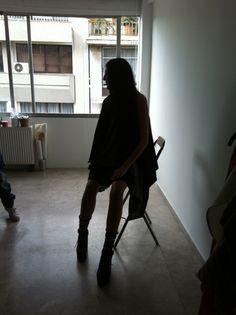 Athena P Gerard lookbook backstage ..