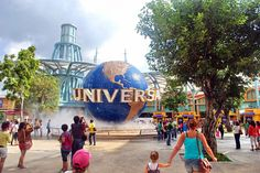 Universal Studios Singapore is a theme park located within Resorts World Sentosa on Sentosa Island, Singapore  http://goo.gl/lcpuuF