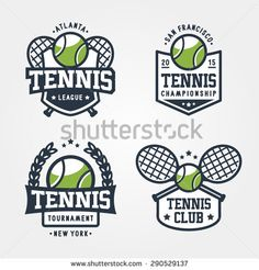 Find Set Tennis Badge Logo Templates Tshirt stock images in HD and millions of other royalty-free stock photos, illustrations and vectors in the Shutterstock collection. Tennis Party, Tennis Cake, Beach Tennis, Tennis Dress, Championship League, Tennis Tournaments, Tennis Championships, Tennis Shirts, Badge Logo