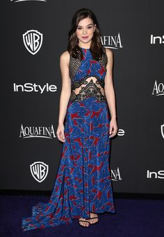 In Stella McCartney atInStyle And Warner Bros. 72nd Annual Golden Globe Awards Post-Party   - ELLE.com
