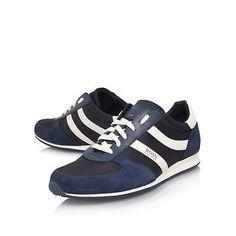 Hugo Boss Orland Runner Mens Trainers Size 8 UK BNWB RRP.£120