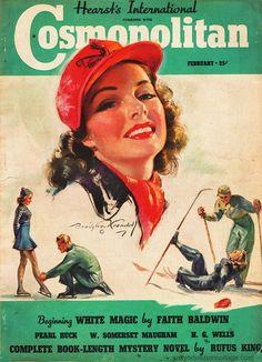 Magazine Cover Cosmopolitan 1939