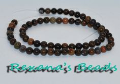 16 Strand of Chinese Writing Stone 6mm Round. Starting at $4 on Tophatter.com! http://tophatter.com/auctions/18518