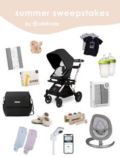 The Orbit Baby Summertime Sweepstakes! Smart Baby Monitor, Baby Giveaways, Orbit Baby, Travel Systems For Baby, Traveling With Baby, Summer Baby, Baby Bottles, Baby Decor, Future Baby