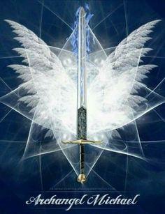 Arcanjo Miguel,  defendei-nos com sua poderosa espada de Luz, livrai-nos das insídias do mal, fortalecei-nos nas tentações.  Que sua espada de  luz de Luz Divina venha cortando e seccionando, cortando e seccionando, cortando e seccionando, toda a energia mal qualificada, toda imperfeição, toda frequencia que não for frequencia da luz.  Tudo que não for a luz deve ser cortado e eliminado em nome do Arcanjo Miguel.  Assim seja!  _/_