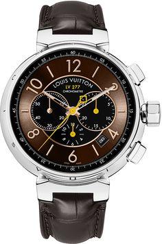 La Cote des Montres : La montre Louis Vuitton Tambour LV277 Chronographe Automatique - Un nouveau design