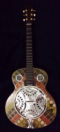Blueberry Resonator Guitar --- https://www.pinterest.com/lardyfatboy/
